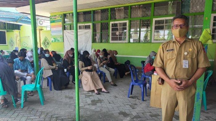 Vaksinasi Pelajar SMKN 2 Amuntai, Kepala Sekolah Sebut Ada Orang Tua Tidak Beri Izin Vaksin