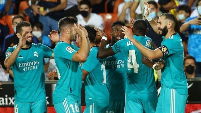 Hasil Liga Spanyol, Real Madrid vs Villareal 0-0, Minim Serangan, Courtois Salahkan Wasit