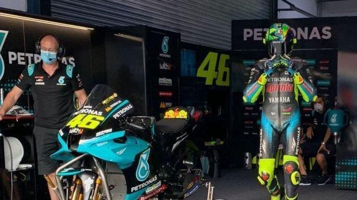 Jadwal Tayang MotoGP Spanyol 2021 Live Trans 7, Masalah Utama Valentino Rossi 'Melambat', Musim ini