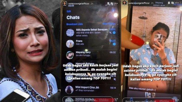 Vanessa Angel Bocorkan Chat Mesra Bibi Ardiansyah dan Asistennya Mayang Sary