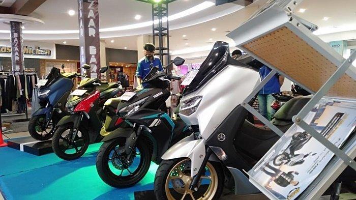 Varian Yamaha yang ada di Grand Floor Q Mall Banjarbaru, Kota Banjarbaru, Kalimantan Selatan.