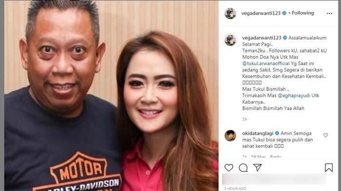Mendadak Tukul Arwana Dilarikan ke Rumah Sakit, Vega Darwanti Beberkan Kondisi sang Komedian