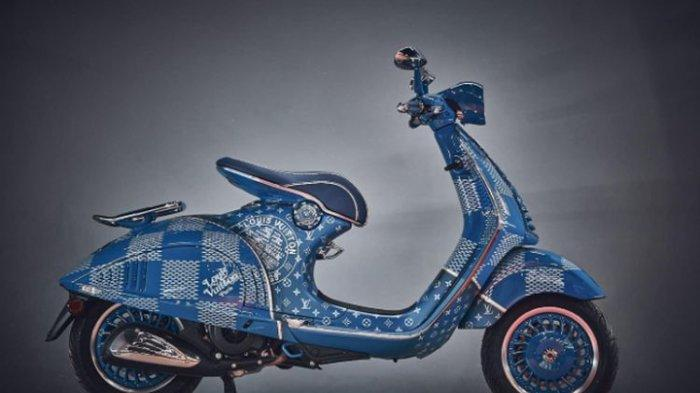 Satu-satunya di Dunia, Vespa 946 Louis Vuitton Ini Diciptakan Super Eksklusif