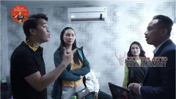 Ulah Iis Dahlia dan Billy Syahputra Picu Reaksi Kalina, Vicky Prasetyo Syok Saat Dimarahi