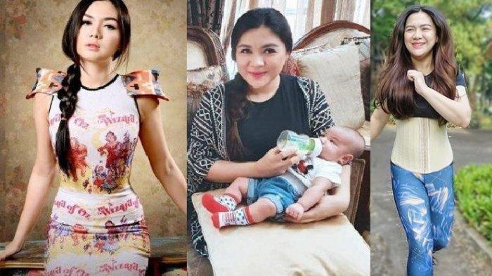 Begini penampakan artis Vicky Shu sebelum menikah saat memiliki anak