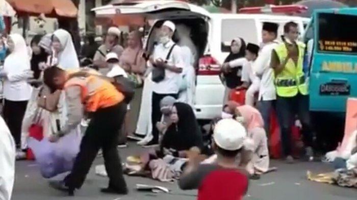 Video Aksi Aipda Achyar Pungut Sampah Saat Ustadz Abdul Somad Ceramah Viral dan Panen Pujian