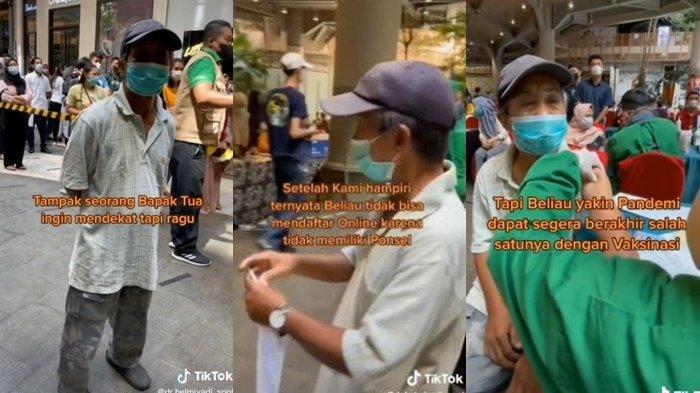 Ditonton 6,6 Juta Kali, Kisah Kakek Naik Sepeda Demi Divaksin Viral di Medsos, Rela Tempuh 15 KM