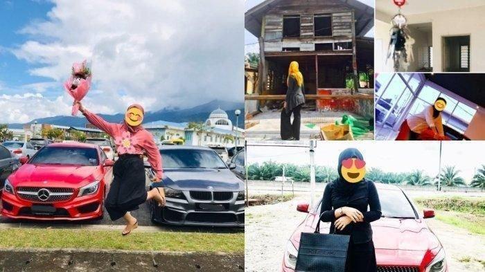 VIRAL, Ditolak CaMer karena Bukan PNS Lalu Pacar Berselingkuh, Wanita Ini Membalas Pamer Mobil Mewah