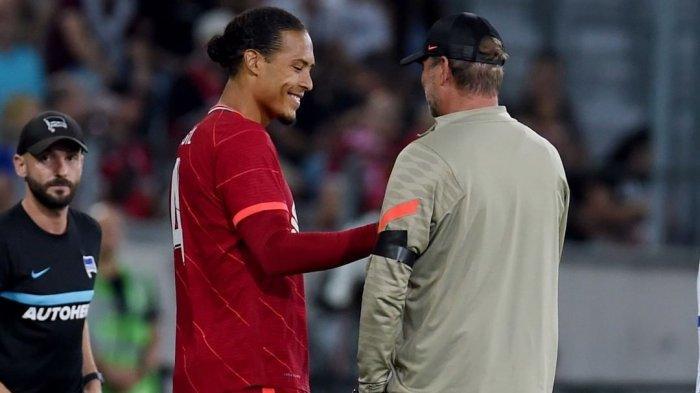 Hasil Liverpool vs Bologna Ujicoba Jelang Liga Inggris, van Dijk Dimainkan Klopp