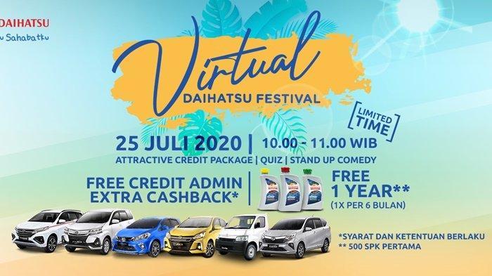 Jangan Lupa, Daihatsu Siap Tebar Promo di Virtual Festival Pada 26 Juni 2021