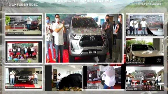Resmi Hadir di Banjarmasin, Toyota New Hilux Suguhkan Kenyamanan Kabin dan Konsep Modern
