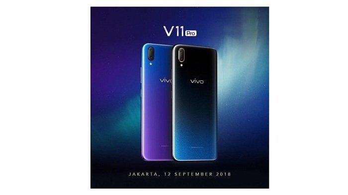 Vivo V11 Pro Resmi Rilis di Indonesia, Perhatikan Tanggal Peluncurannya