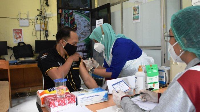 Wabah Corona Kalteng, Masih Berjalan, Segini Capaian Vaksinasi Covid-19 di Kapuas