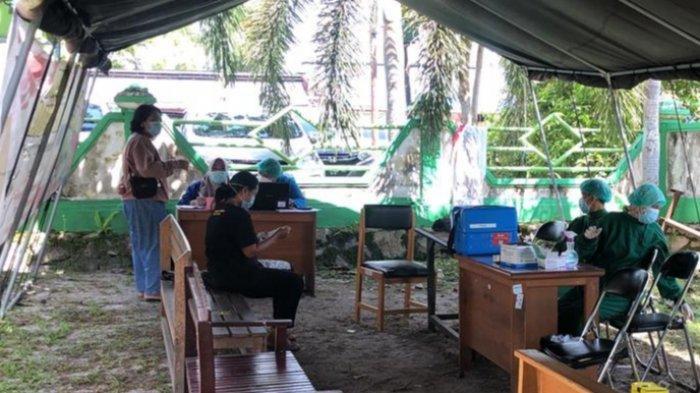 Wabah Corona Kalteng, Vaksinasi Covid-19 Dilaksanakan Hingga di Lingkungan Sekolah