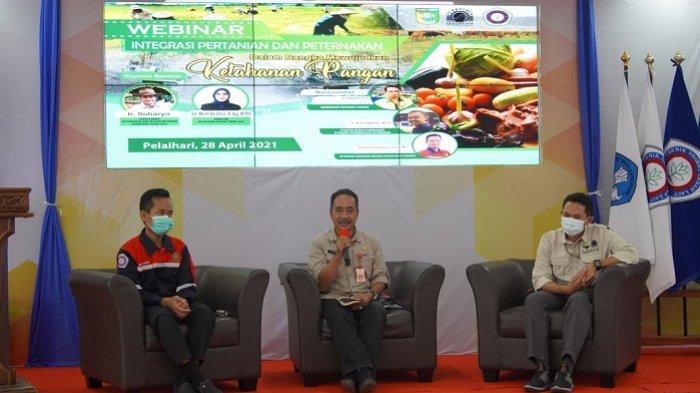 PT Arutmin Tambang Asamasam Gelar Webinar Integrasi Pertanian dan Perternakan