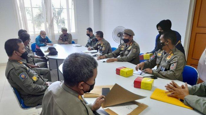 Upaya Berikan Perlindungan kepada Masyarakat, Wabup Tanbu Kunjungi Satpol PP Provinsi