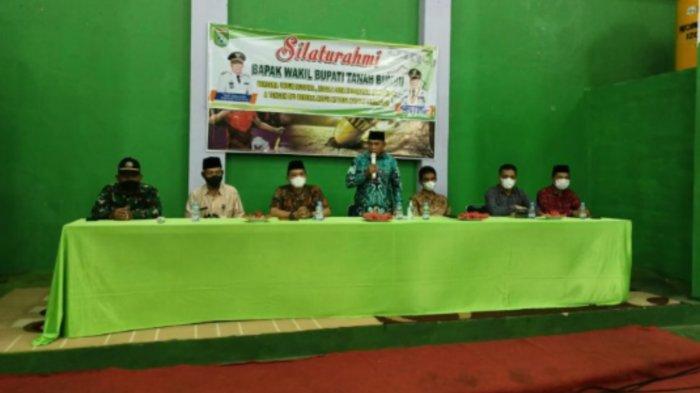 Wabup Tanbu Muh Rusli, Silahturahmi dengan Aparatur Kecamatan Kusan Hilir dan Kusan Tengah