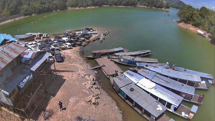 Ditemukan Gayung Mengapung, Warga Liangganggang Banjarbaru Diduga Tenggelam di Waduk Riam Kanan