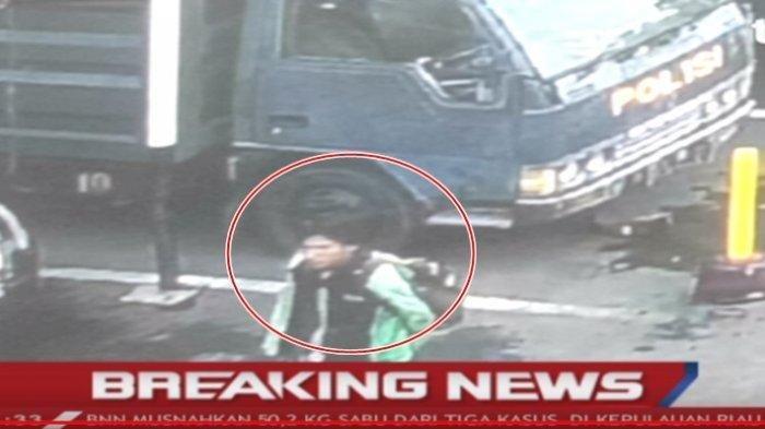 PENAMPAKAN Diduga Pelaku Bom Bunuh Diri Polrestabes Medan, Pakai Jaket Ojol Terkenal Ini
