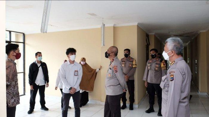 Satu Gedung di Mako Sat Brimob Polda Kalsel Disulap Jadi Fasilitas Karantina Anggota Polri