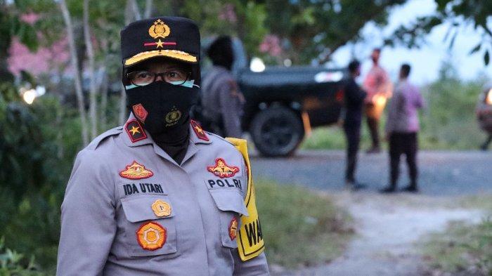 Polwan Kalteng Ikut Andil Menjaga Keamanan dan Ketertiban Masyarakat