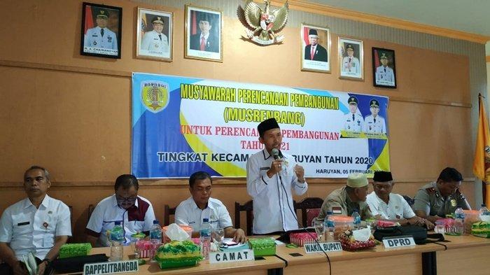 Wakil Bupati Bersilaturahmi dengan Kepala SMP se-Kabupaten Hulu Sungai Tengah
