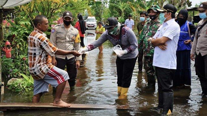 1.665 Hektare Persawahan Kabupaten HSS Terdampak Banjir, Dinas Pertanian HSS Usulkan Bantuan Benih