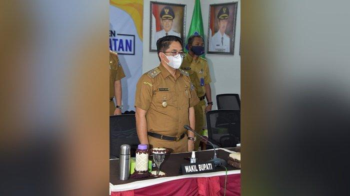 Wabup HSS Ikuti Rakornas Pencegahan Karhutla Dipimpin Presiden RI Joko Widodo