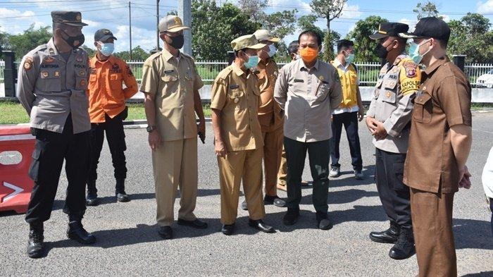 Wakil Bupati Kapuas M Nafiah Ibnor Apresiasi Kesiagaan Petugas Pos Perbatasan Kalselteng