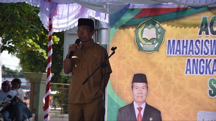 Hadiri Penutupan Kuliah Kerja Lapangan Mahasiswa STAI Kualakapuas, Ini Pesan Wabup Kapuas Kalteng