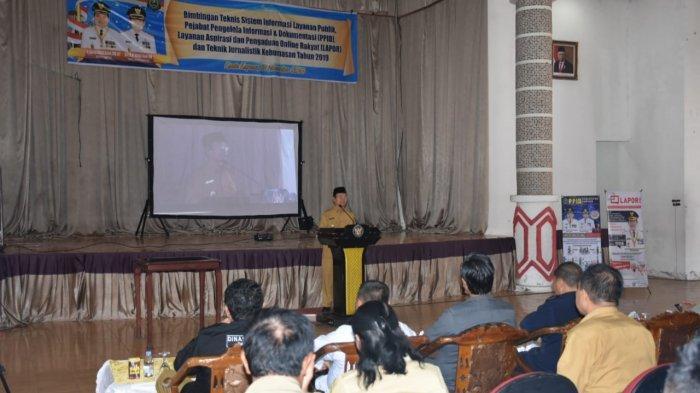 Wakil Bupati Kapuas Minta OPD Aktif Publikasikan Kegiatan Melalui Media