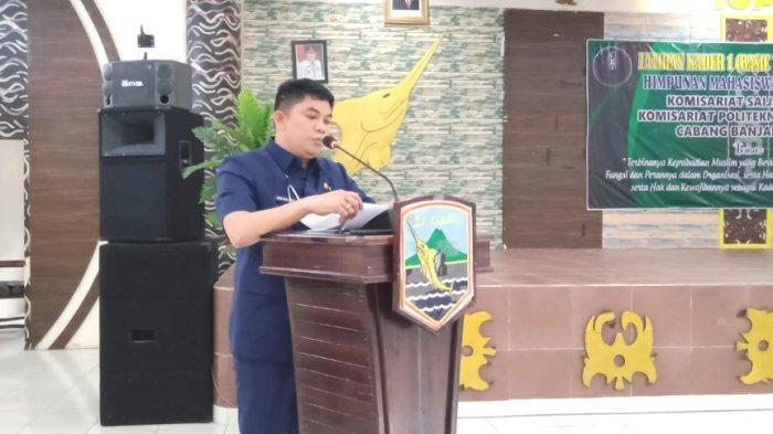 Wabup Kotabaru Andi Rudi Latif Buka Pelatihan Kader Satu HMI