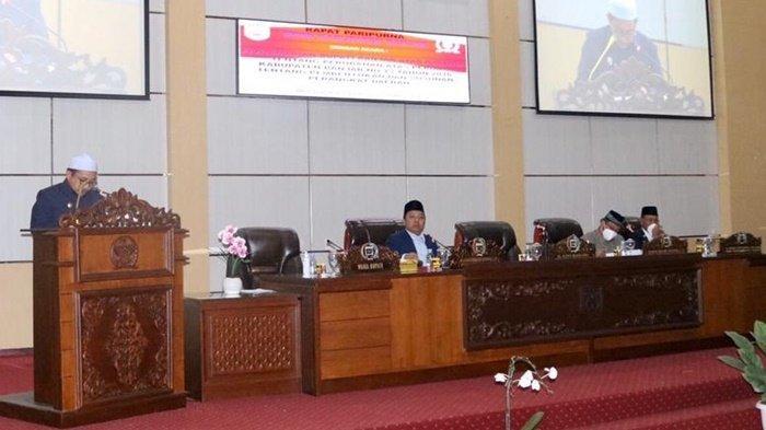 Raperda Pengurangan Organisasi Perangkat Daerah Diajukan Pemkab Banjar ke DPRD