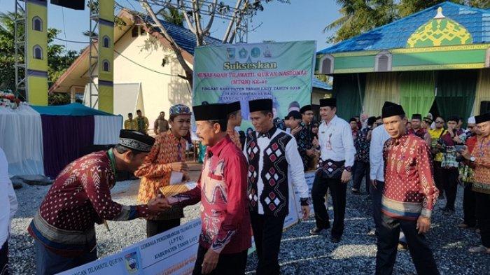 Wakil Bupati Tala Janji Gelontorkan Dana Rp 1 Miliar Agar Setiap Kecamatan Melaksanakan MTQ