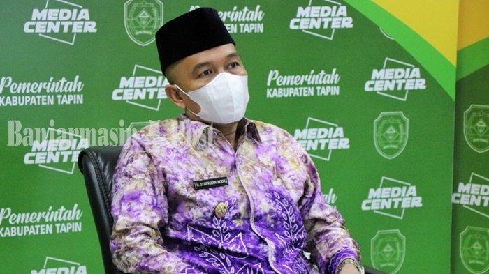 Wakil Bupati Tapin, H Syafrudin Noor, mengajak semua pihak mendukung dan menyukseskan Pemungutan Suara Ulang pemilihan gubernur Kalimantan Selatan (PSU Pilgub Kalsel) di Kecamatan Binuang, Sabtu (22/5/2021).