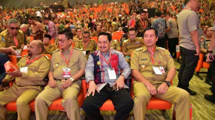 Hadir di Rakornas Kepala Daerah, Wagub Kalsel Rudi Resnawan Kutip Pesan Penting Presiden RI