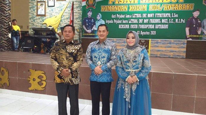 Tampuk Pimpinan Kodim 1004/Kotabaru Berganti, Pisah Sambut Dihadiri Wakil Ketua DPRD