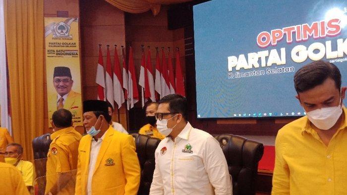 Golkar Siagakan Kader di Wilayah yang Menggelar PSU Pilgub Kalsel