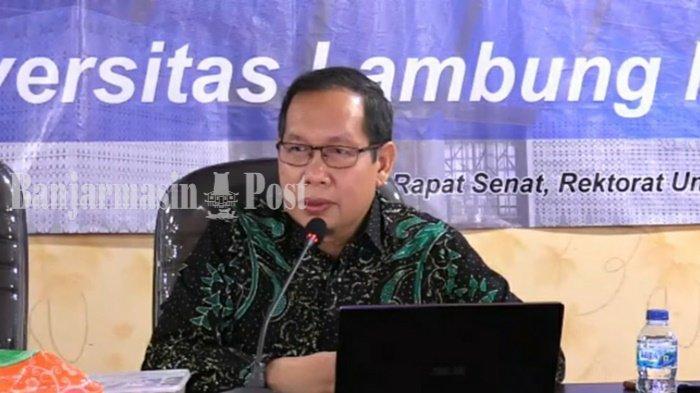 KalselPedia - Profil Wakil Rektor I ULM Prof. Dr. H. Aminuddin Prahatama Putra, M.Pd