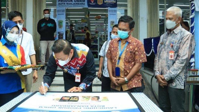 Hadiri Launching, Wakil Wali Kota Berharap Produk UMKM Banjarbaru Mampu Bersaing