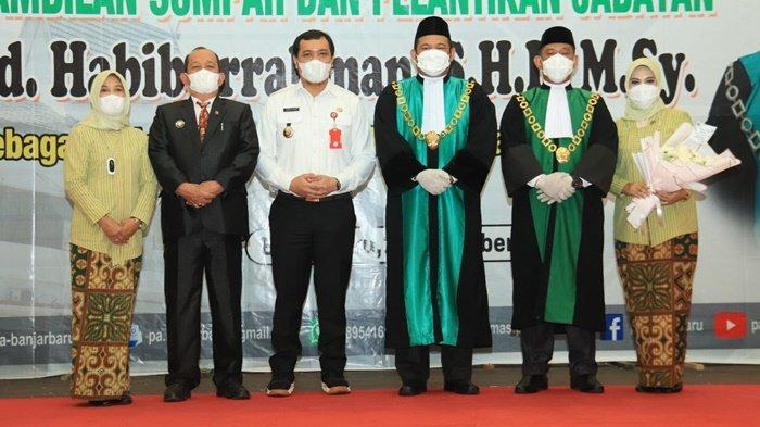Wali Kota Banjarbaru Aditya Mufti Ariffin Hadiri Pelantikan Wakil Ketua Pengadilan Agama