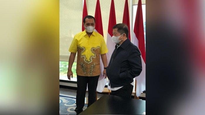 Wali Kota Banjarbaru HM Aditya Mufti Ariffin SH MH saat Ekspose dan bertemu Menteri PPN (Kepala Bappenas) Suharso Monoarfa di Jakarta beberapa waktu lalu.