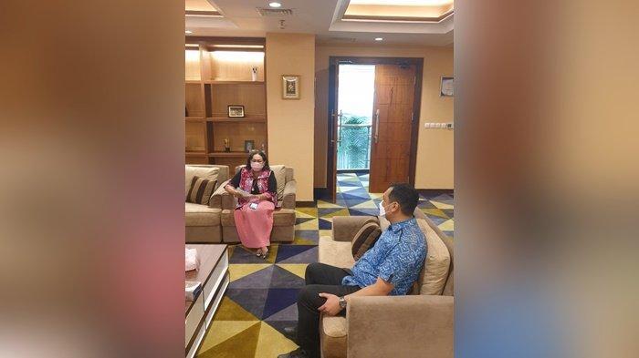 Wali Kota Banjarbaru, HM Aditya Mufti Ariffin, diskusi dengan Rektor Universitas Gunadarma, Prof. Dr. E.S. Margianti, SE, MM, di Jakarta, terkait kemungkinan melakukan kerja sama.