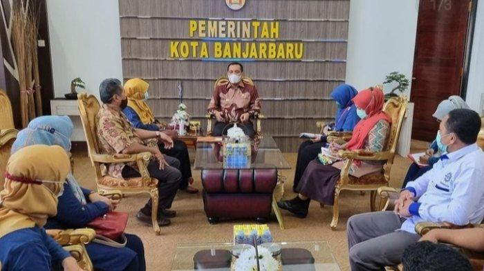 Wali Kota Banjarbaru Audensi dengan Kemenag, Angkasa Pura dan Komunitas