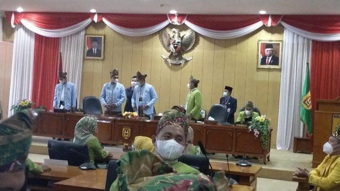 Hari Jadi ke- 22, Kota Banjarbaru Kalsel Gelar Rapat Paripurna