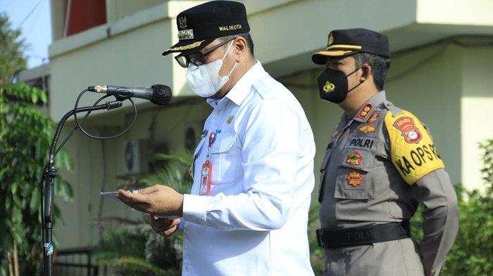 Wali Kota Banjarbaru Pimpin Apel Pasukan Pengamanan Lebaran di Polres