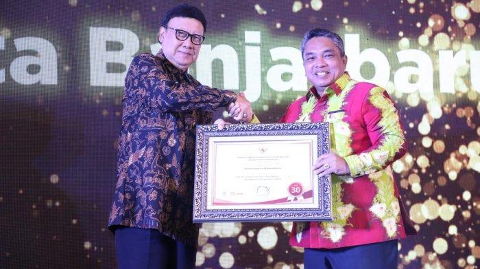 Dua Penghargaan Nasional Kembali Diraih Wali Kota Banjarbaru