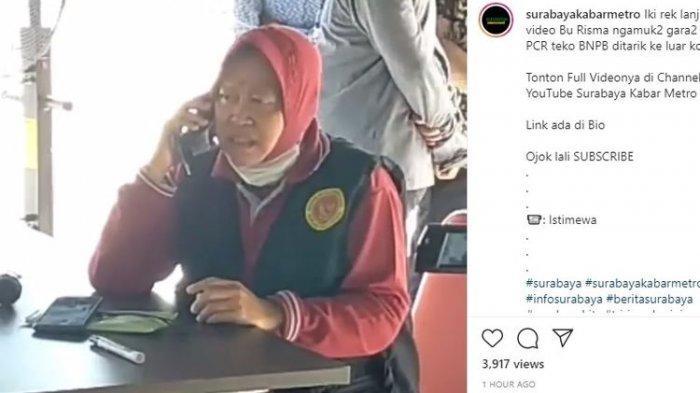 Risma Tiba-tiba Ngamuk Mobil PCR Tinggalkan Surabaya, Kepala BPBD Jatim Malah Sebut Ini