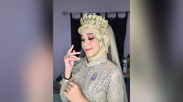 Model Make Up yang Sibuk Urus Nanang Galuh Banjar Ini Mengaku Tertarik Geluti Tata Rias