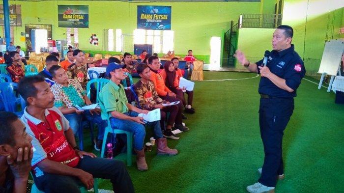DMII-ACT Bekali Kesiapsiagaan Bencana untuk 14 Desa Di Satui